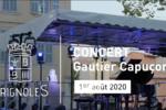 Gautier Capuçon en concert le 1er août