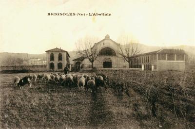 L'abattoir - Carte postale ancienne