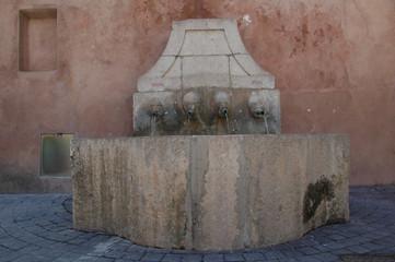 Fontaine des 4 saisons