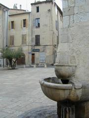 Fontaine Place des Comtes de Provence