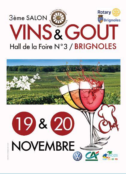 Ville de brignoles 3e salon des vins du go t for Calendrier salon des vins